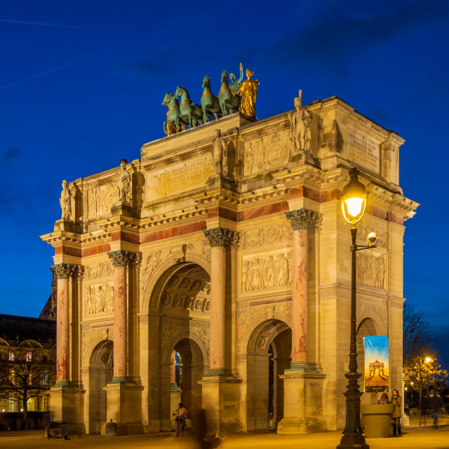 """""""Arc de triomphe Paris"""" stock image"""
