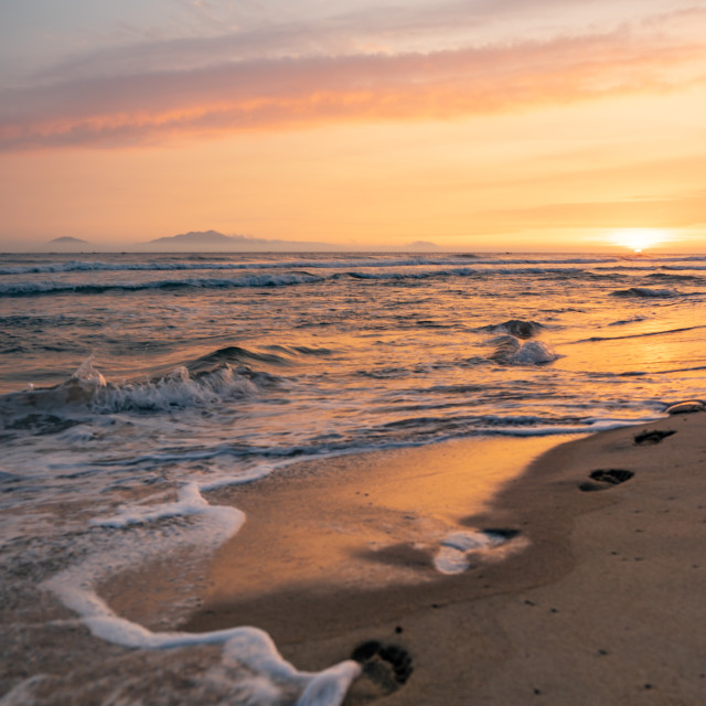 """""""Cua Dai Beach in Hoi An Vietnam"""" stock image"""