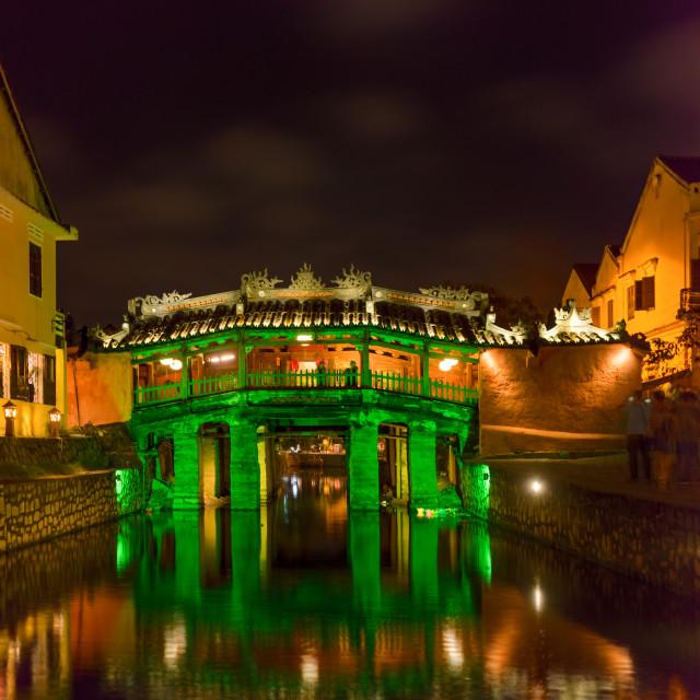 """Historical landmark of the city Hoi An, Vietnam"" stock image"