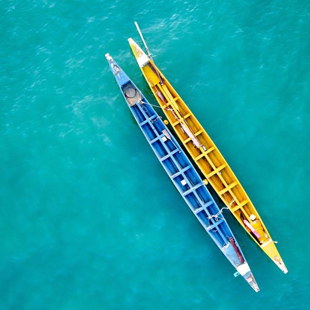 """""""Dragonboats in Hong Kong"""" stock image"""
