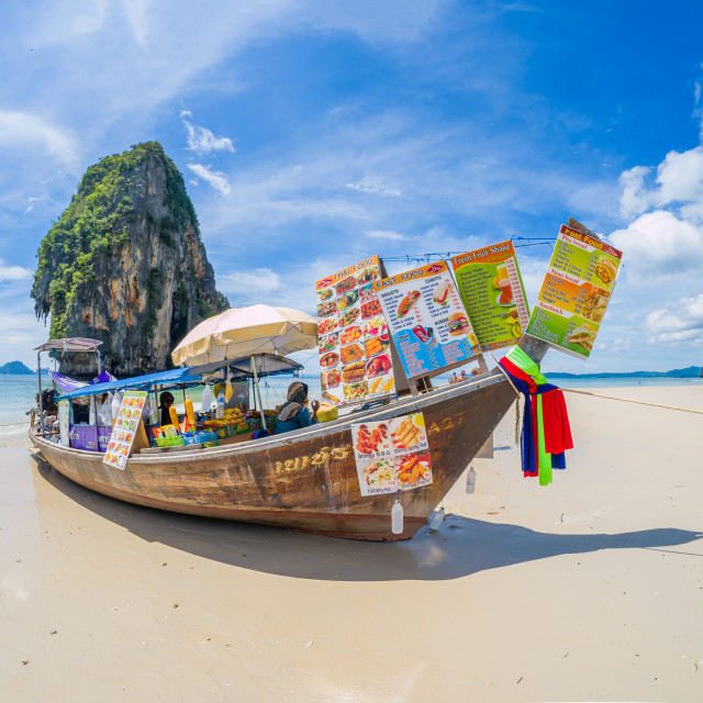"""The railay tropical beach thailand"" stock image"