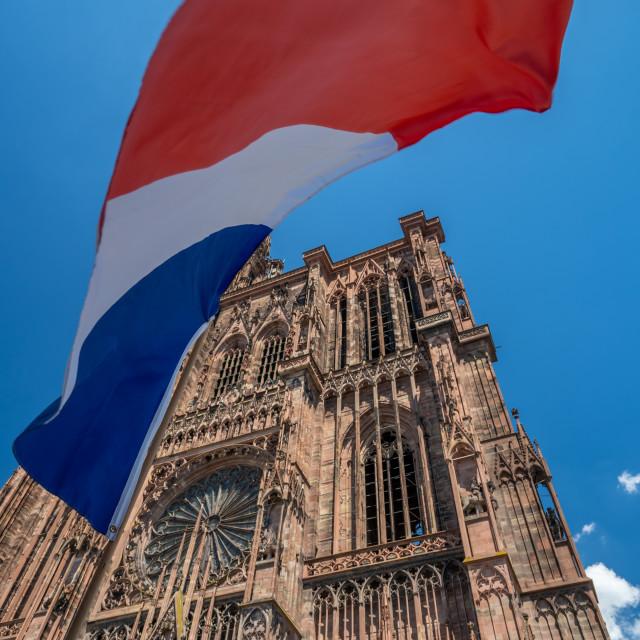 """Cathedral Notre dame de Strasbourg"" stock image"