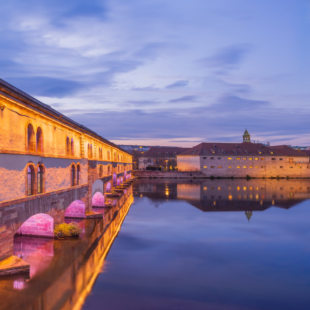"""""""Ponts couverts in Strasbourg"""" stock image"""