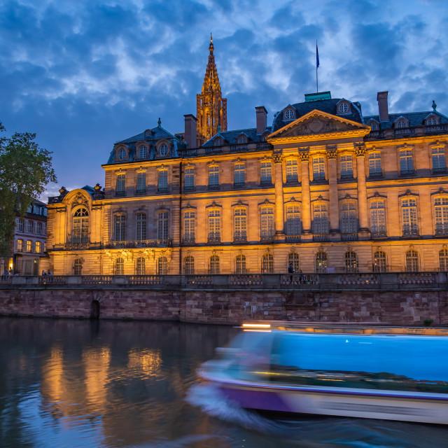 """Palais des Rohan in Strasbourg"" stock image"