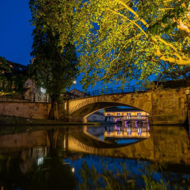 """""""Petite France in Strasbourg Alsace"""" stock image"""