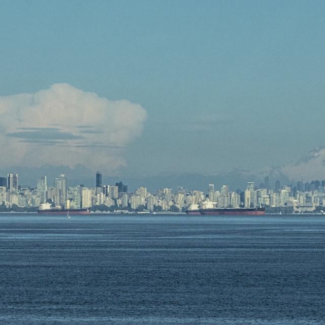"""Vancouver Skyline"" stock image"