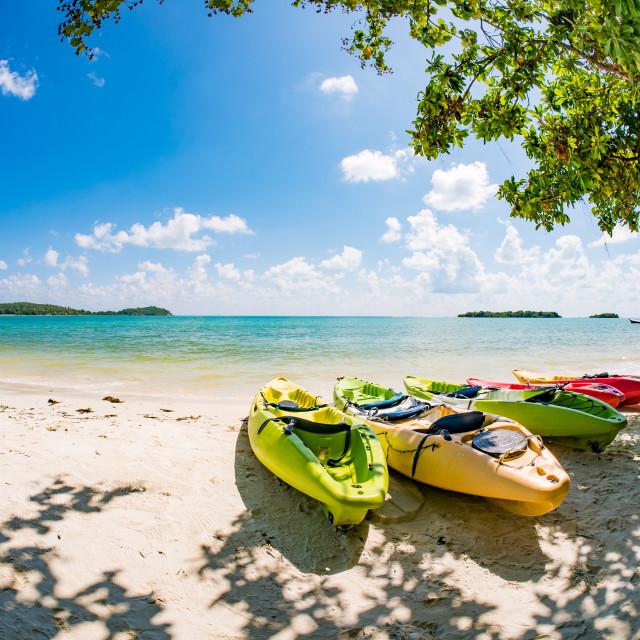 """Landscape of Koh Samui island"" stock image"