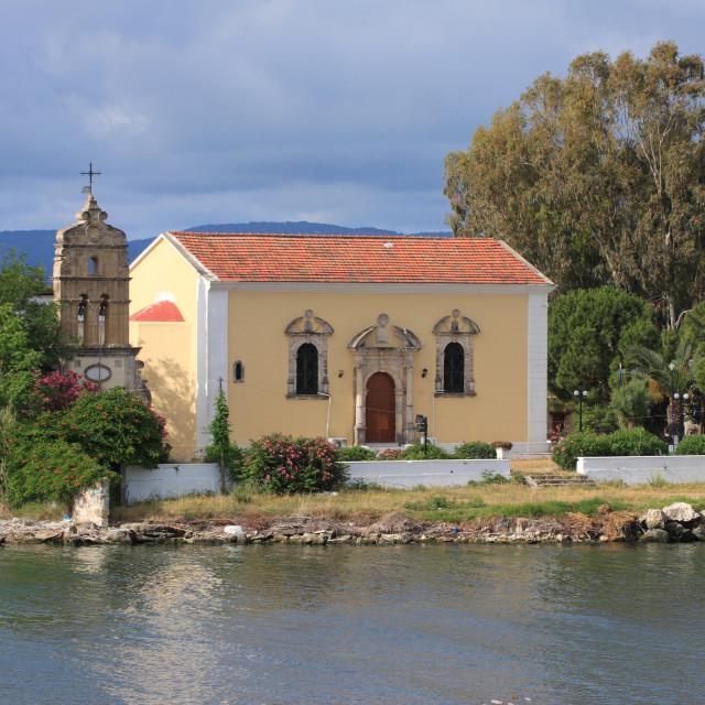 """Greek orthodox church"" stock image"