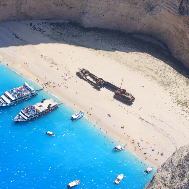 """Zakynthos Greece"" stock image"