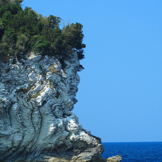 """Gaios in Paxos island"" stock image"