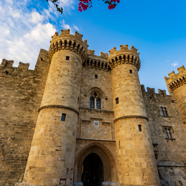 """""""Rhodes old town"""" stock image"""