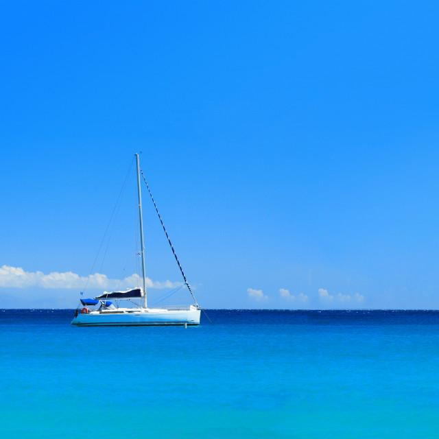 """""""Sailing yacht"""" stock image"""