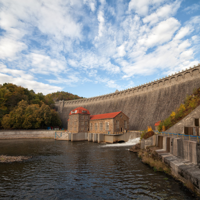 """Pilchowice Dam in Poland"" stock image"
