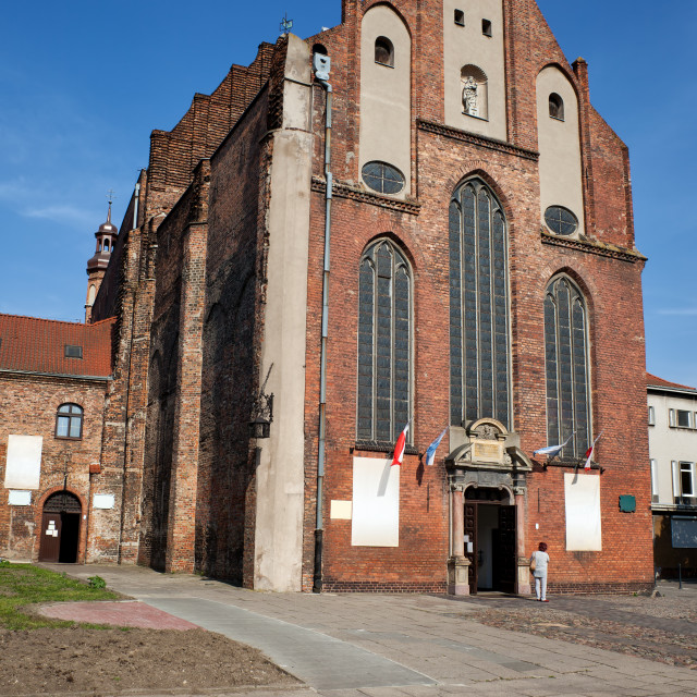 """St Joseph Church in Gdansk"" stock image"