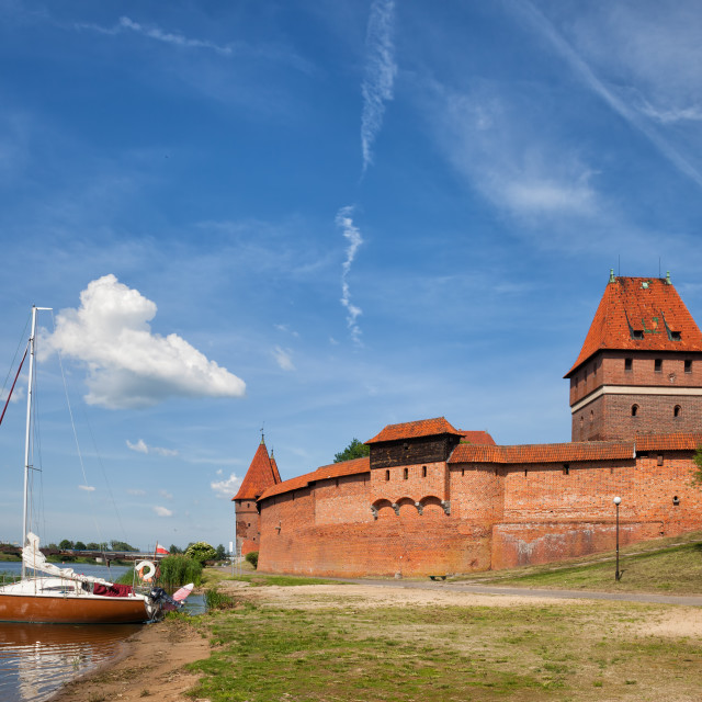 """Malbork Castle"" stock image"