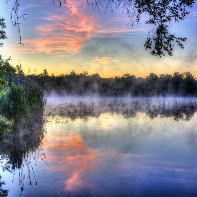 """""""Sunrise at LeBaron Hills"""" stock image"""