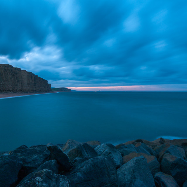 """""""West Bay Dawn"""" stock image"""