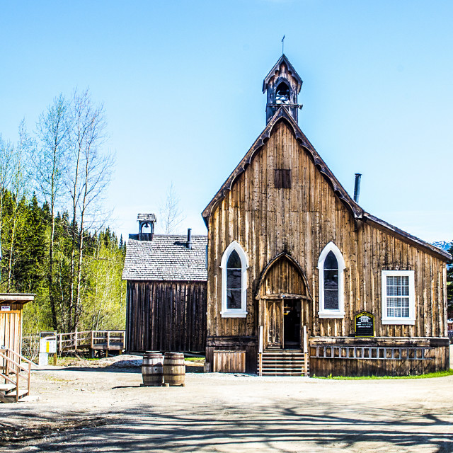 """""""Barkerville"""" stock image"""