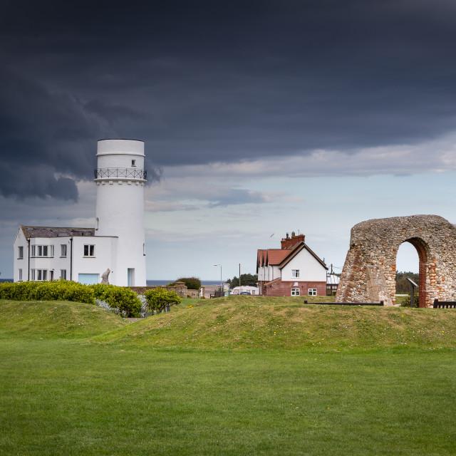 """Hunstanton Lighthouse"" stock image"