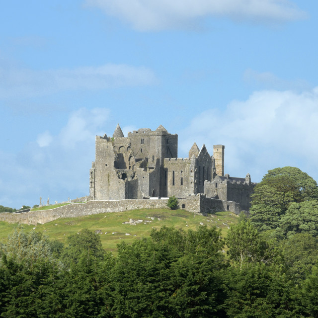 """""""Rock of Cashel, County Tipperary"""" stock image"""