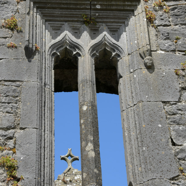 """Holy Cross Abbey"" stock image"