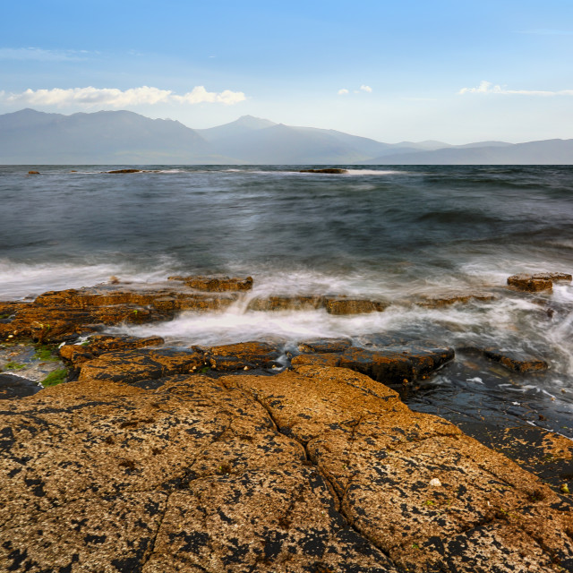 """The Isle Of Arran"" stock image"