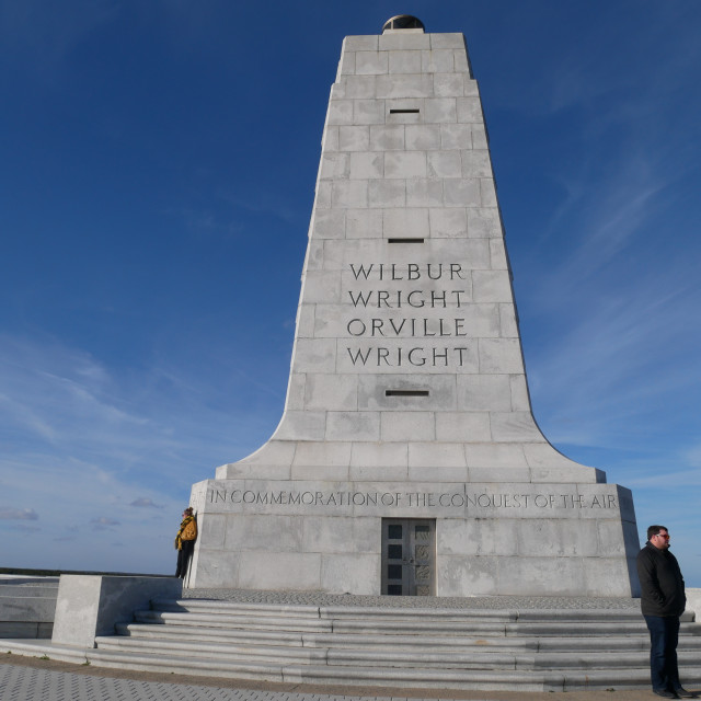 """Wright Brothers Memorial"" stock image"