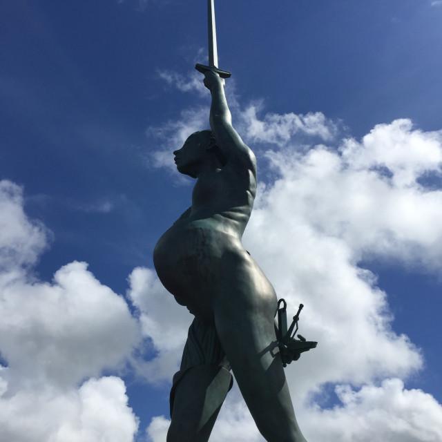 """Verity Statue"" stock image"
