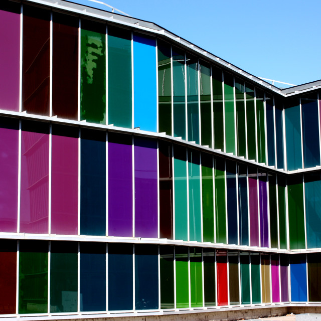 """""""The Museum of Modern Art in Leon, Spain"""" stock image"""