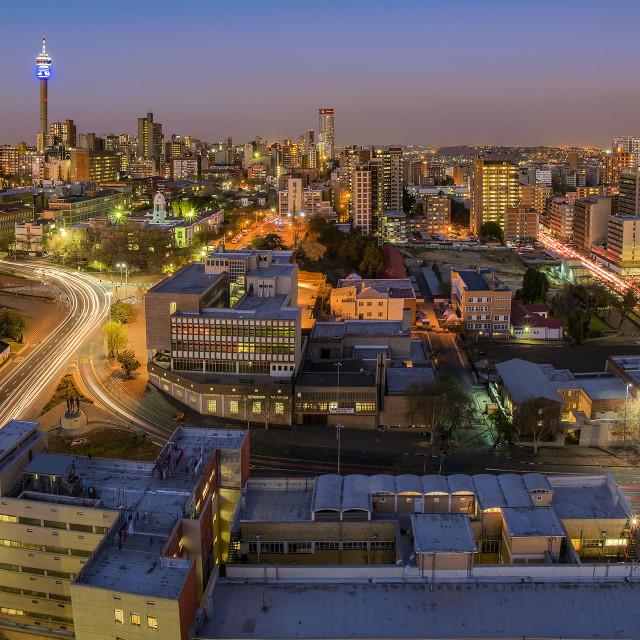 """""""Joburg Cityscape 01"""" stock image"""