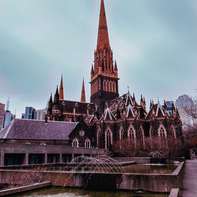 """""""Saint Patrick's Cathedral"""" stock image"""