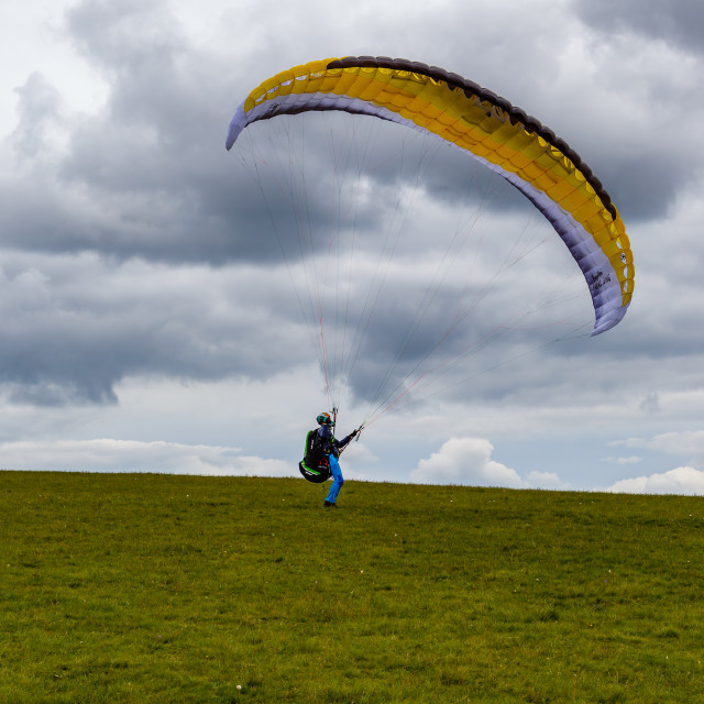 """Paragliding"" stock image"