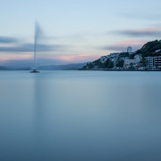 """Wellington Waterfront"" stock image"