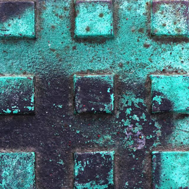 """Beautiful Texture Of Rust"" stock image"