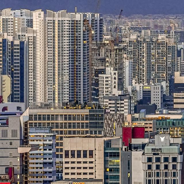 """Singapore Cityscape panorama"" stock image"