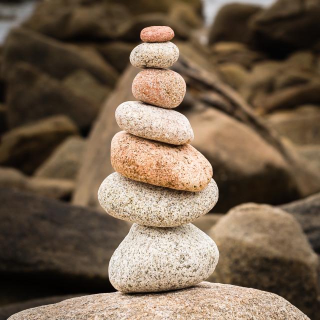 """""""Seven Stones"""" stock image"""