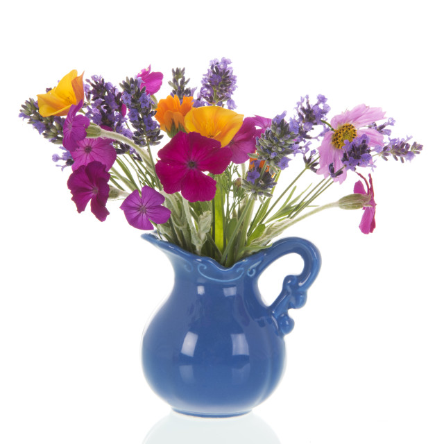 """Flower bouquet from the garden"" stock image"