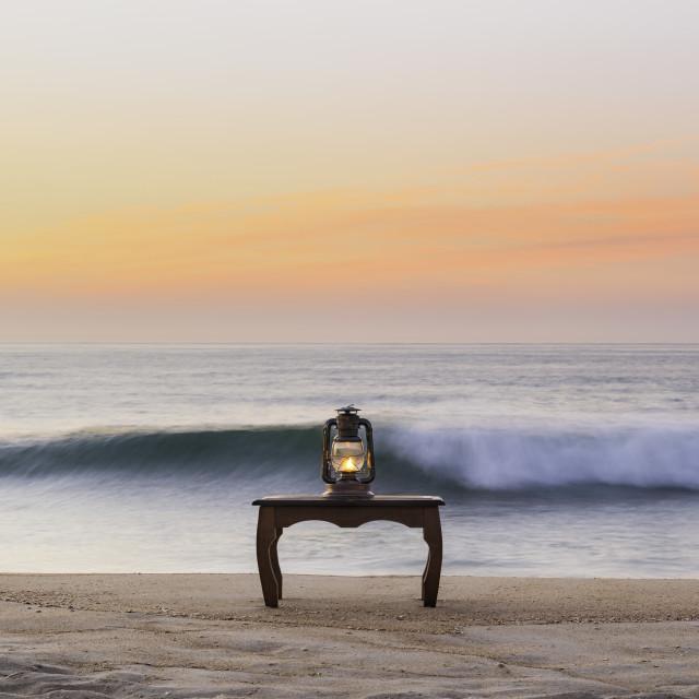 """The magic lantern"" stock image"