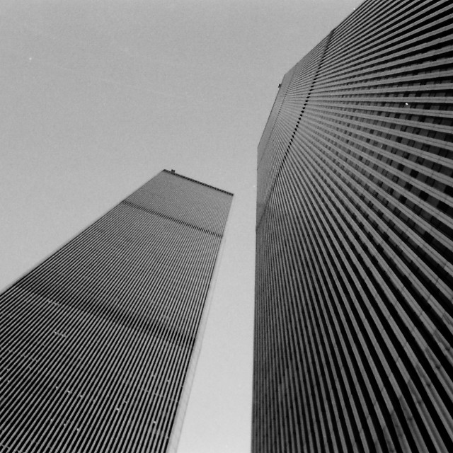 """New York - World Trade Center 1992"" stock image"