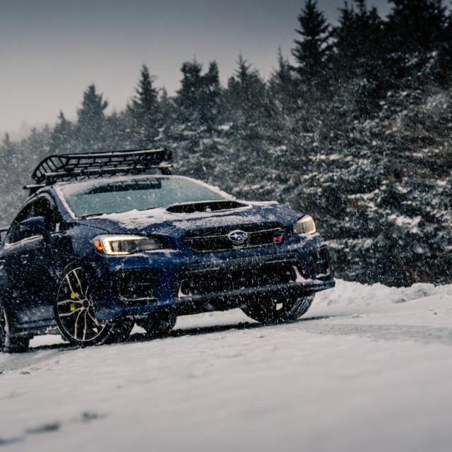 """""""Subaru STI"""" stock image"""