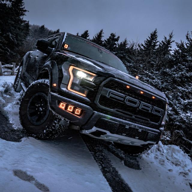 """Ford Raptor"" stock image"