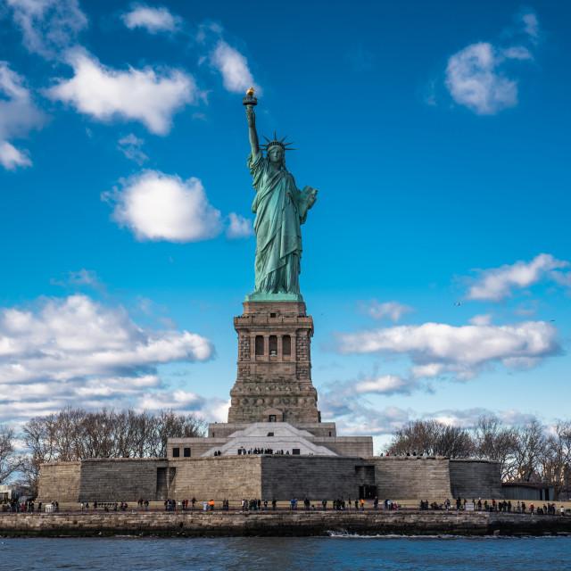 """Statue of Liberty"" stock image"