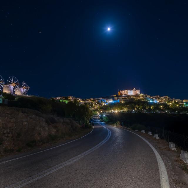 """Monastery of Saint John the Theologian in Patmos"" stock image"