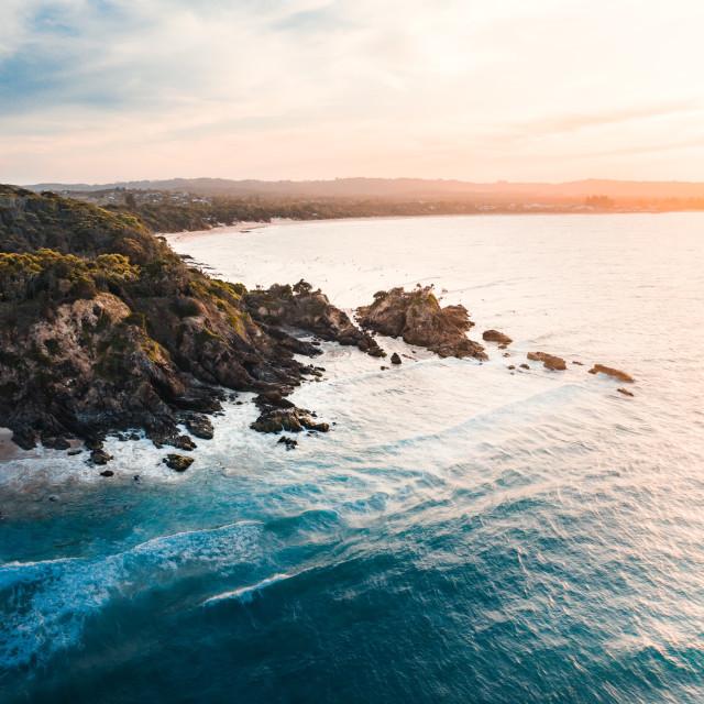"""Byron Bay Coast"" stock image"