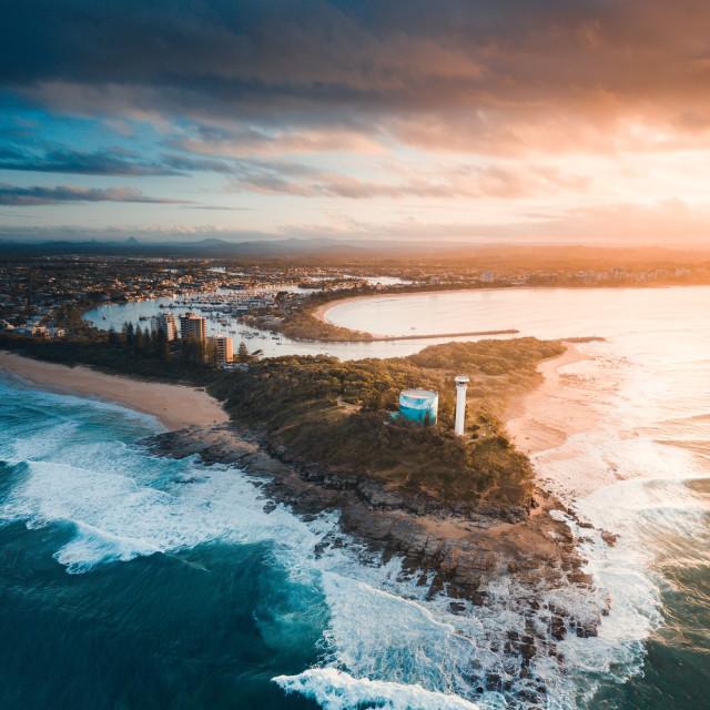 """""""Sunshine Coast"""" stock image"""