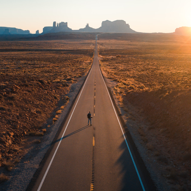 """""""Monument Valley"""" stock image"""