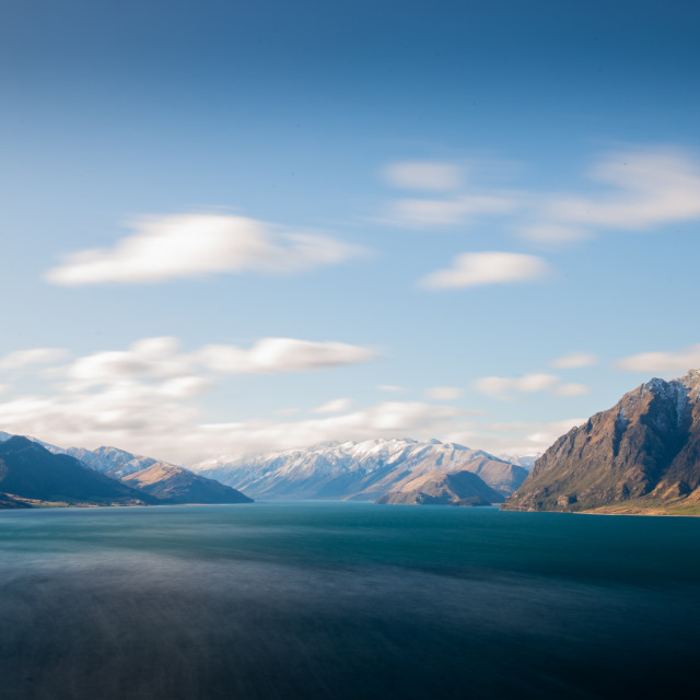 """Lake Hawea"" stock image"