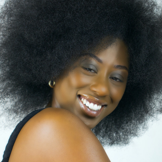 """""""Celebrate The Afro : Just Happy"""" stock image"""