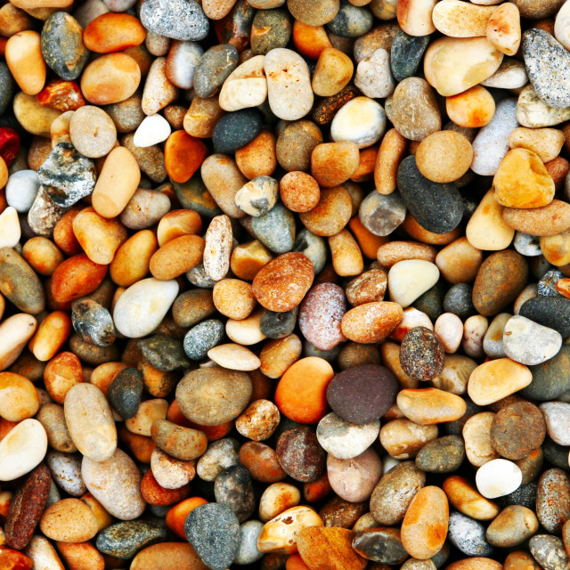 """Pebbles on Chesil Beach, version 2"" stock image"