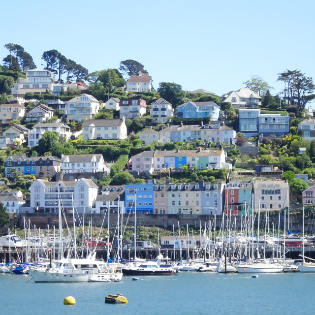 """Dartmouth harbour, Devon"" stock image"